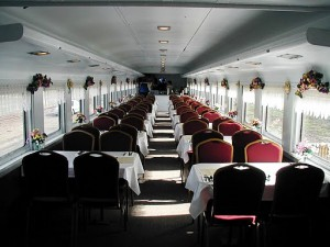 dining car interior 2011